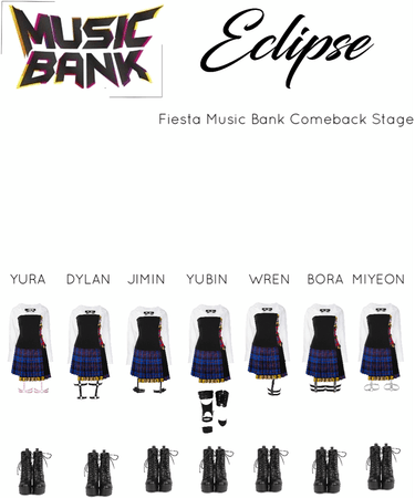 Fiesta Music Bank Comeback Stage