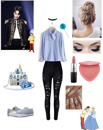 Cinderella and Prince Jimin (Charming)