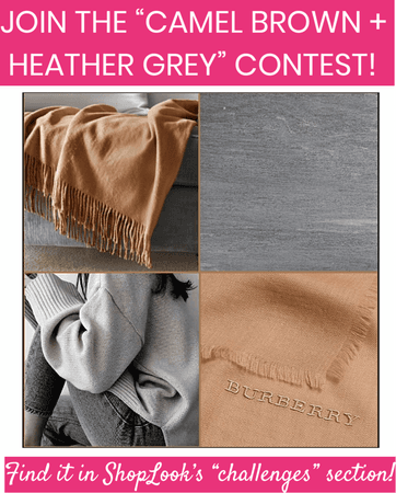 """JOIN THE """"CAMEL BROWN + HEATHER GREY"""" CONTEST!"""