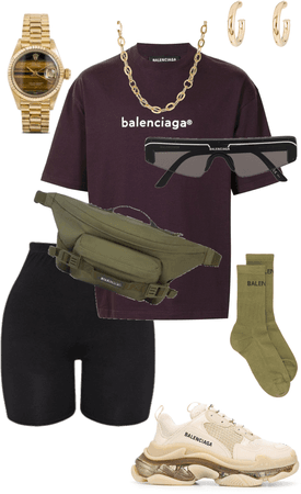 7th outfit-balenciaga, unisex