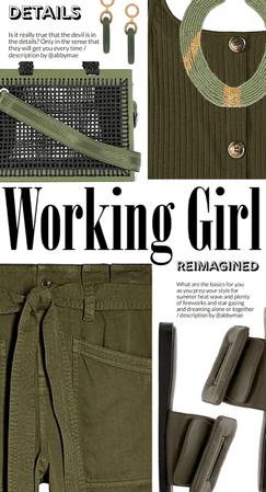 Working Girl Mood: Olive