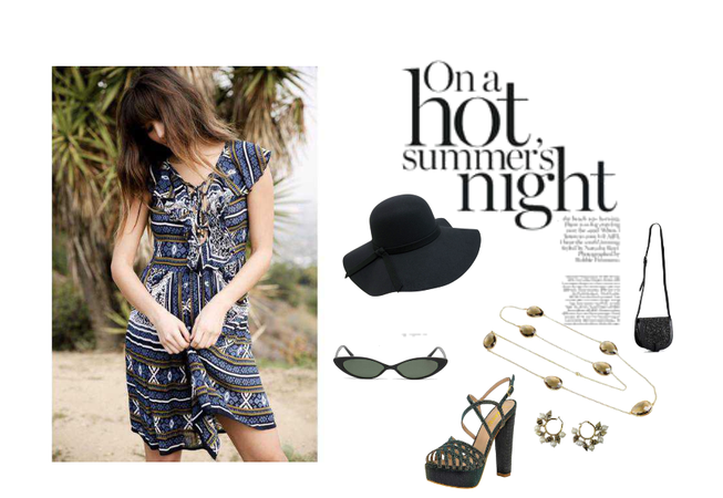 Summer Day to Night Style.
