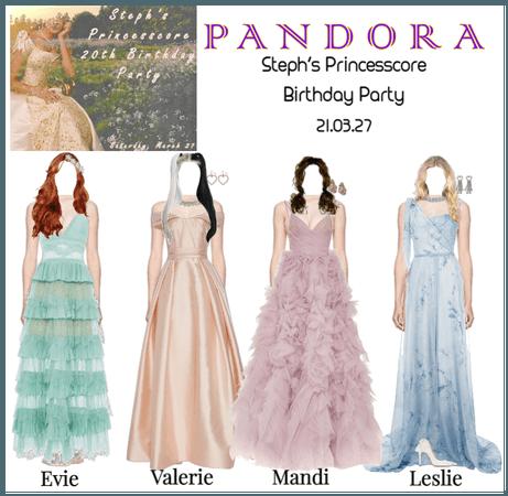 PANDORA at Steph's Princesscore Birthday