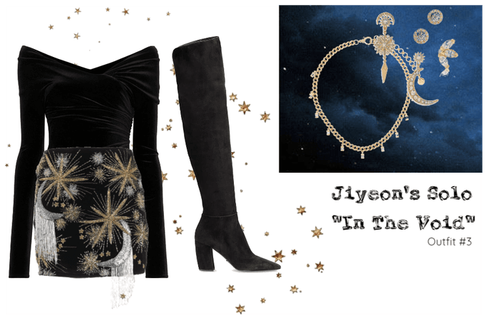 """Jiyeon's Solo """"In The Void"""" Outfit #3"""