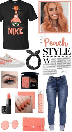 Peach style 🍑🖤