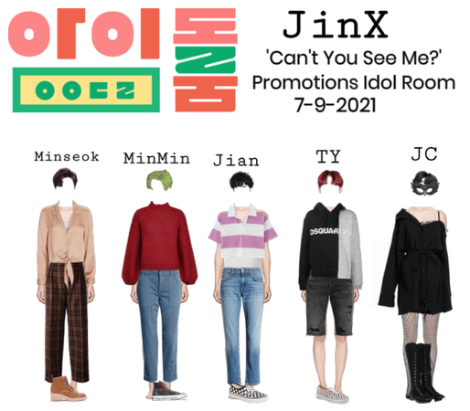 'Can't You See Me?' Promotions Idol Room