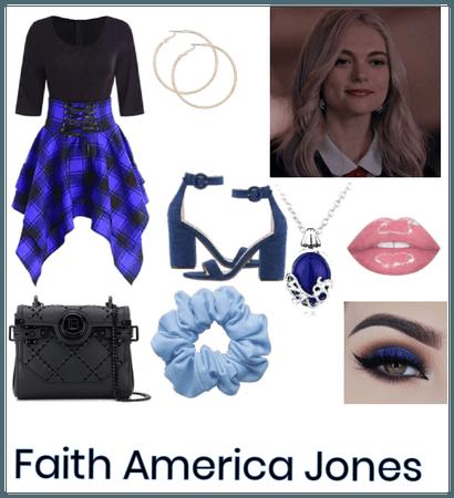 Faith America Jones date outfit