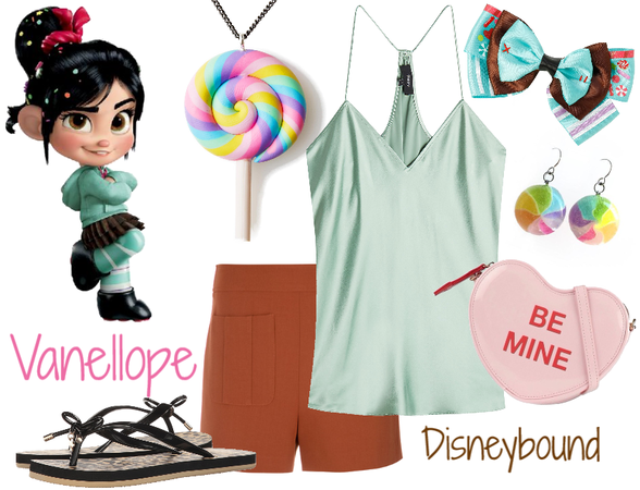 Vanellope Disneybound