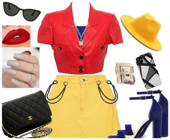 Primary Color Outfit~