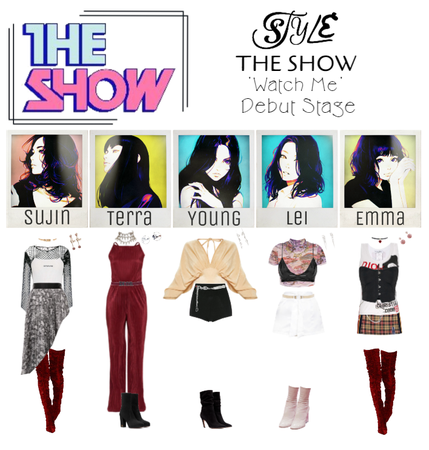 THE SHOW 'Watch Me' Debut Stage