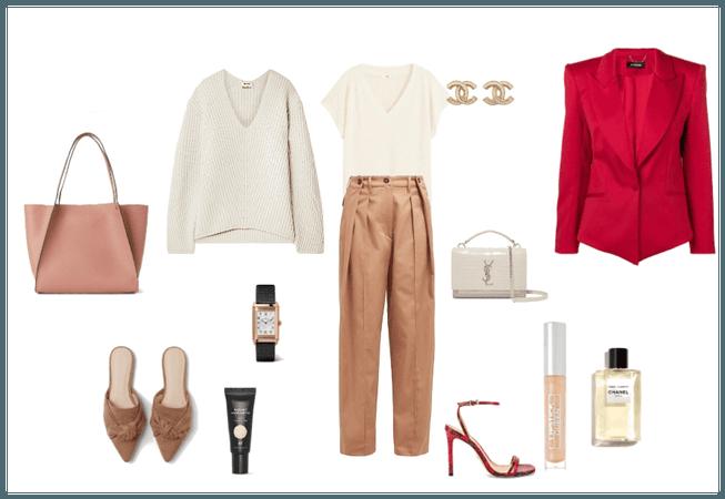 outfit minimalista dia-noche