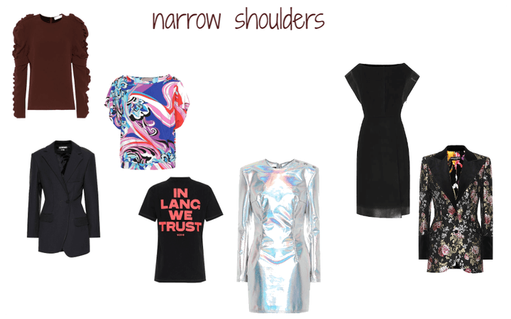 narrow shoulders