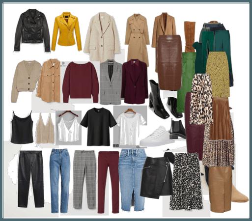 осенне-зимний гардероб мой