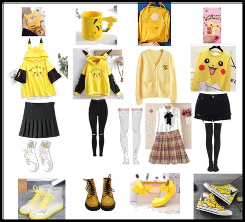 Pikachu themed oufits