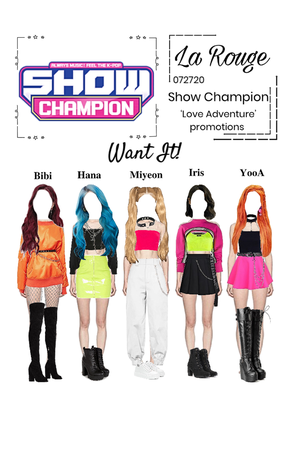Show Champion- Want It! special stage