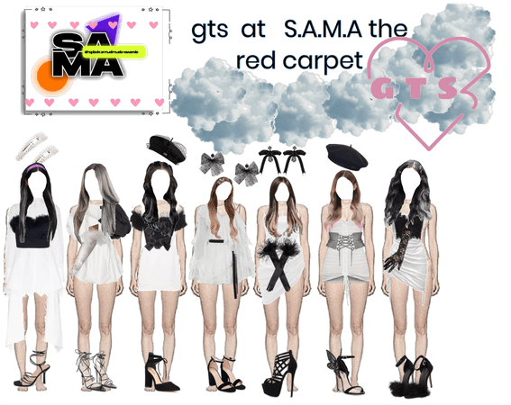 Gts at S.A.M.A the red carpet vote for gts
