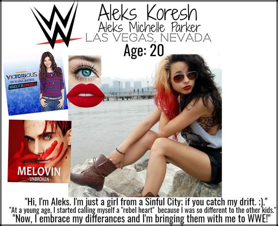 Meet Aleks! - WWE