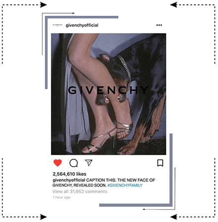 MARIONETTE (마리오네트) Givenchy Instagram Update