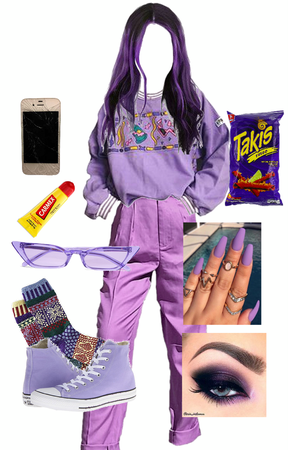 Retro Purple