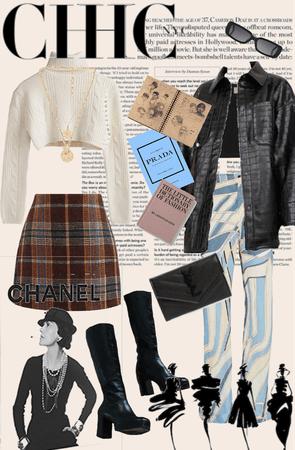 New York City fashion student