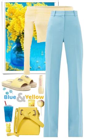 Blue & Yellow!
