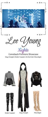 [Lee Young] Nights 2nd Mini Album Premiere Showcase