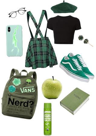 nerd green