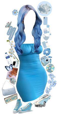 I feel blue 🦋