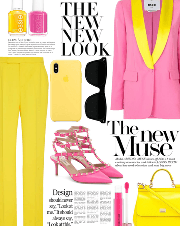 Color Combos - Pink & Yellow 2021