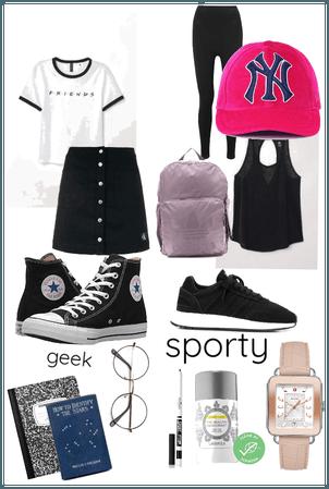 Sporty or geek?