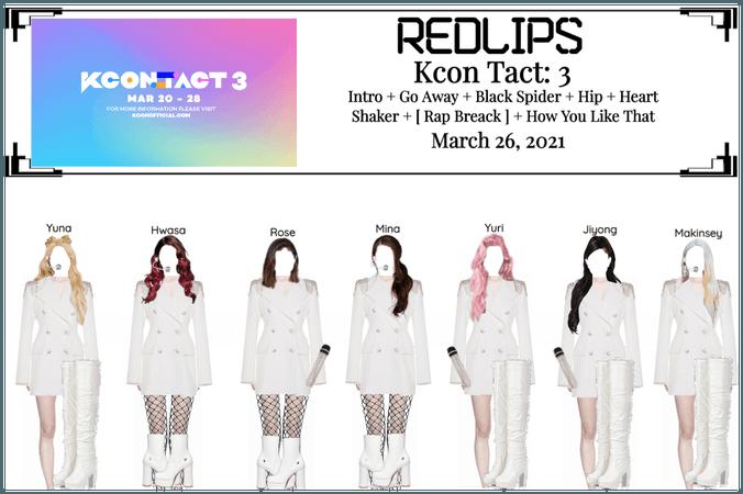 Redlips [KCON: TACT 3]