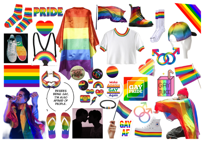 happy pride month (day one: gay pride)