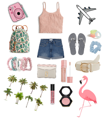 Summer Travel Outfit