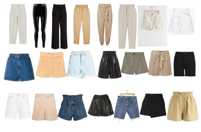 Basics - pants and shorts