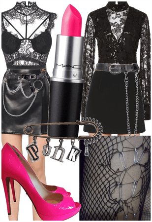 Punk Glam Goth Chicks