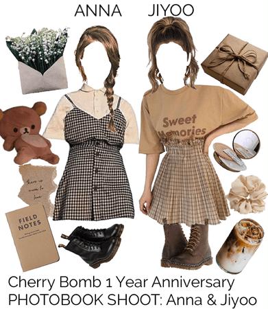 Cherry Bomb 1 Year Anniversary PHOTOBOOK SHOOT: Anna & Jiyoo