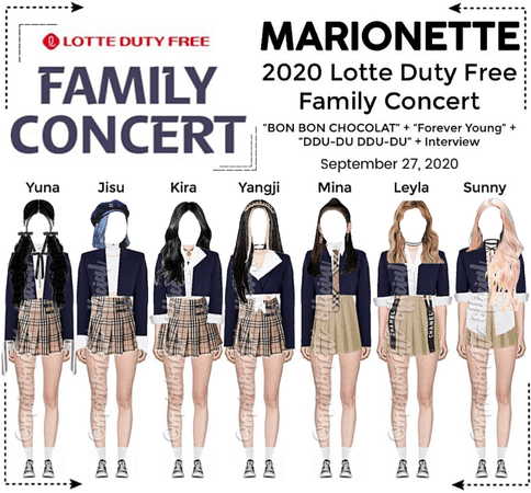 MARIONETTE (마리오네트) 2020 Lotte Duty Free Family Concert