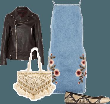 Styling Denim Dresses #1