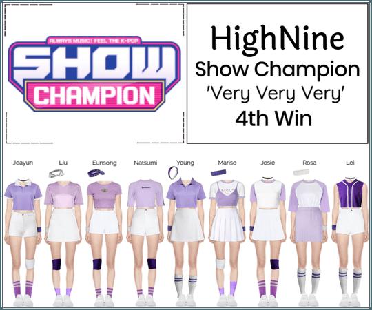 HighNine (하이 나인) Show Champion