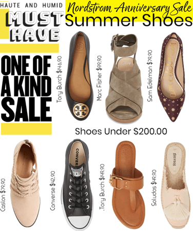 Nordstrom Anniversary Sale Summer Shoes!