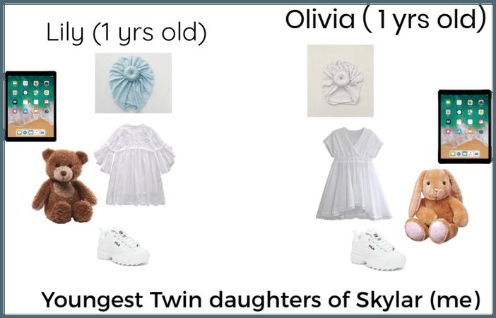 Lily and Oliva (roseborough Family)
