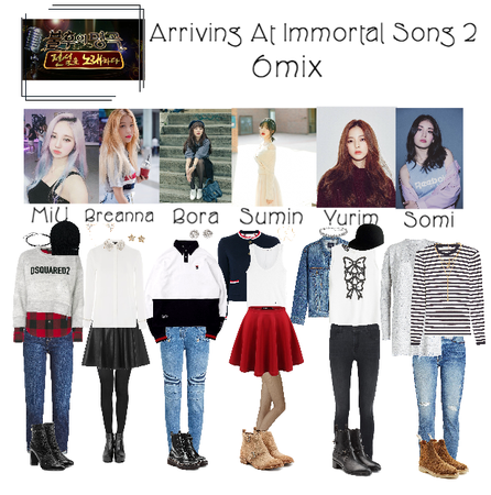 6mix - Arriving At Immortal Songs 2