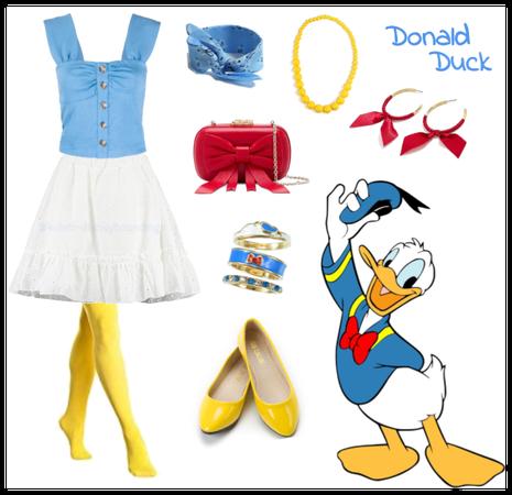 Donald Duck outfit - Disneybounding