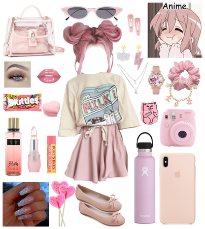 Pink Anime-girl!!