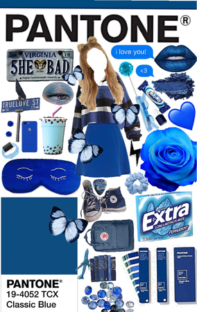 Pantone Blue contest entry