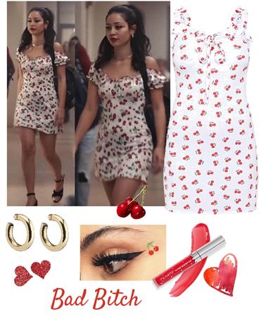 Euphoria - Maddy's Cherrylicious look