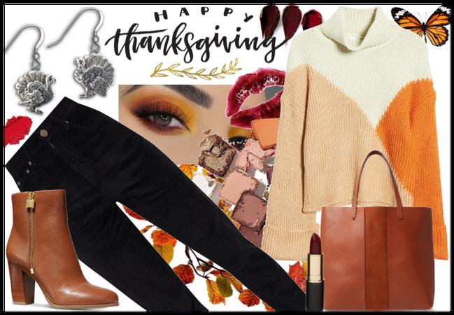 Thanksgiving style - warm, cozy & stylish!