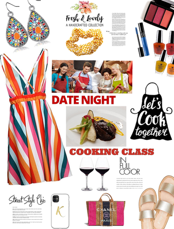 Summer look- date nite idea. cooking class