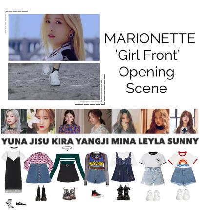 {MARIONETTE} 'Girl Front' M/V Opening Scene