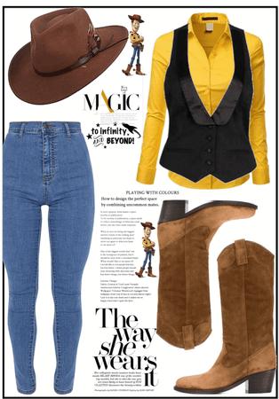 Girl Version of Woody
